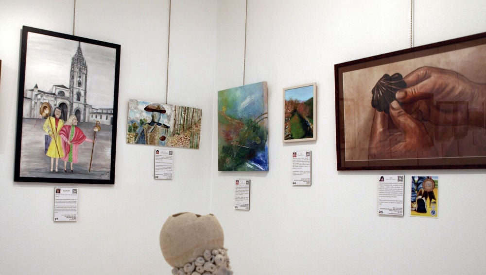 Exposición colectiva de arte sobre el Camino de Santiago