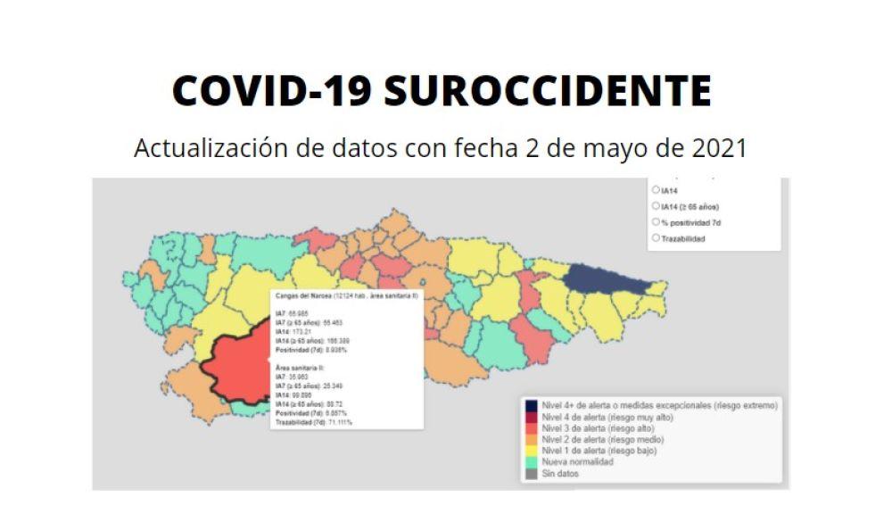 El domingo cerró con 0 casos en esta comarca