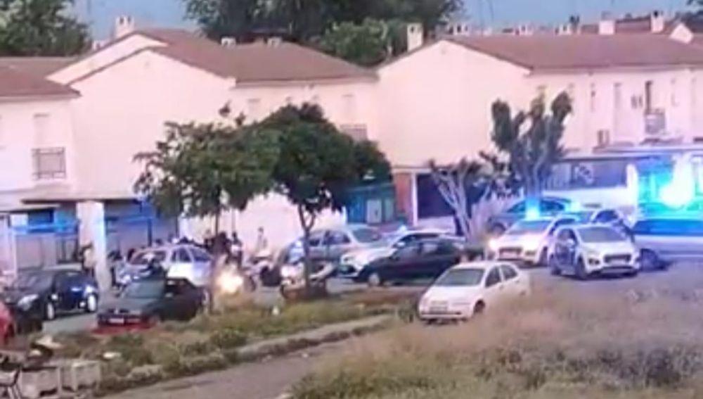 El tiroteo se produjo en el barrio del Pilar