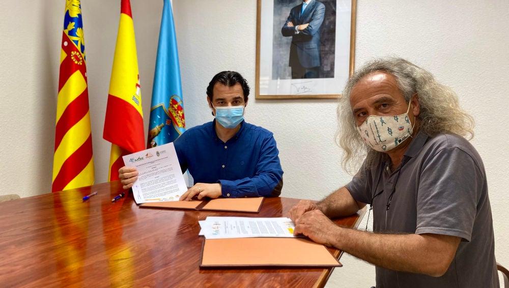 Firma de convenio entre el Ayuntamiento de Torrevieja y la Asociación de Naturalistas del Sureste (ANSE)