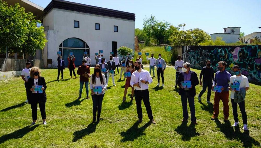 Una guía elaborada por alumnado del IES Al-Qázeres, en el marco del convenio con el Ayuntamiento, propone acciones para dinamizar el Espacio de Creación Joven