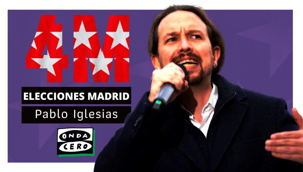 Así es Pablo Iglesias, candidato de Unidas Podemos en las elecciones madrileñas
