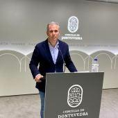 Rafa Domínguez, presidente del PP en Pontevedra