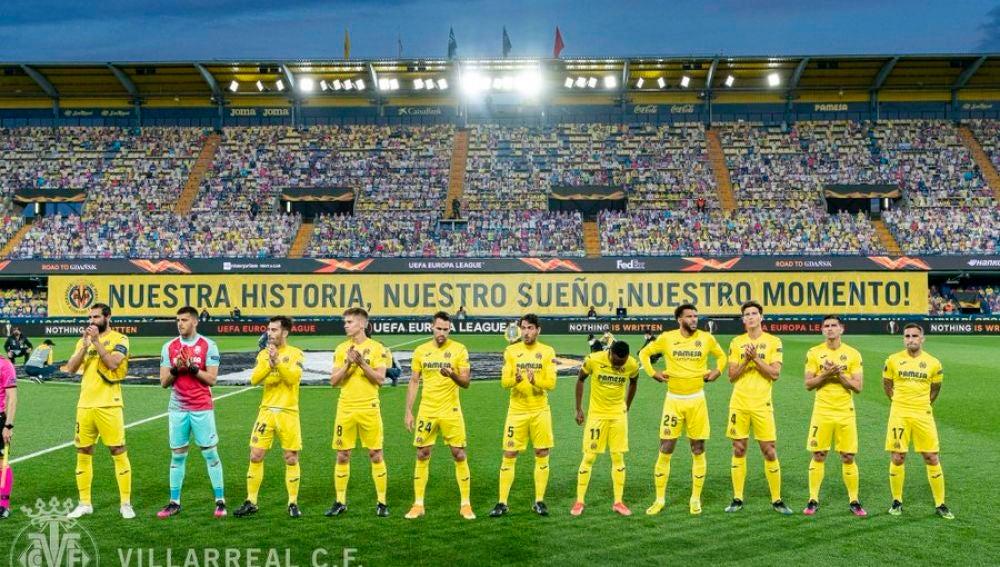 Imagen del partido de ida de la semifinal