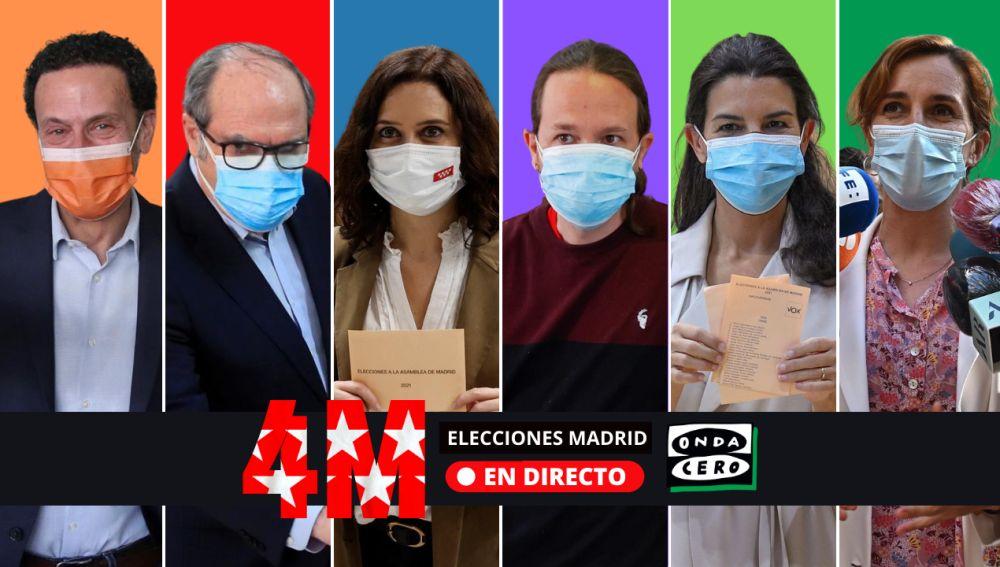 Pactos Elecciones Madrid: consulta los posibles pactos para gobernar tras el resultado de las elecciones madrileñas