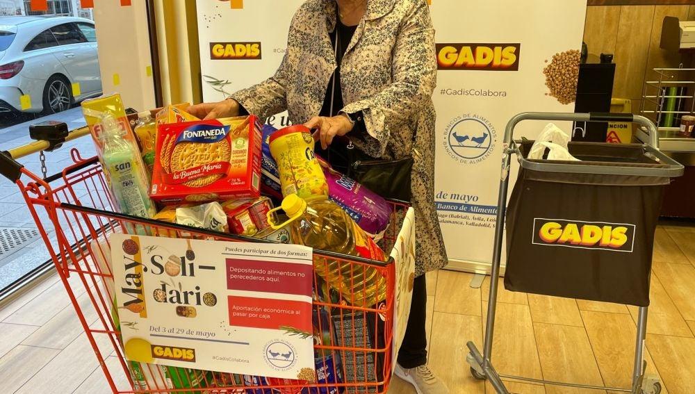 Gadis impulsa el 9º Mayo solidario para ayudar a 11 Bancos de alimentos