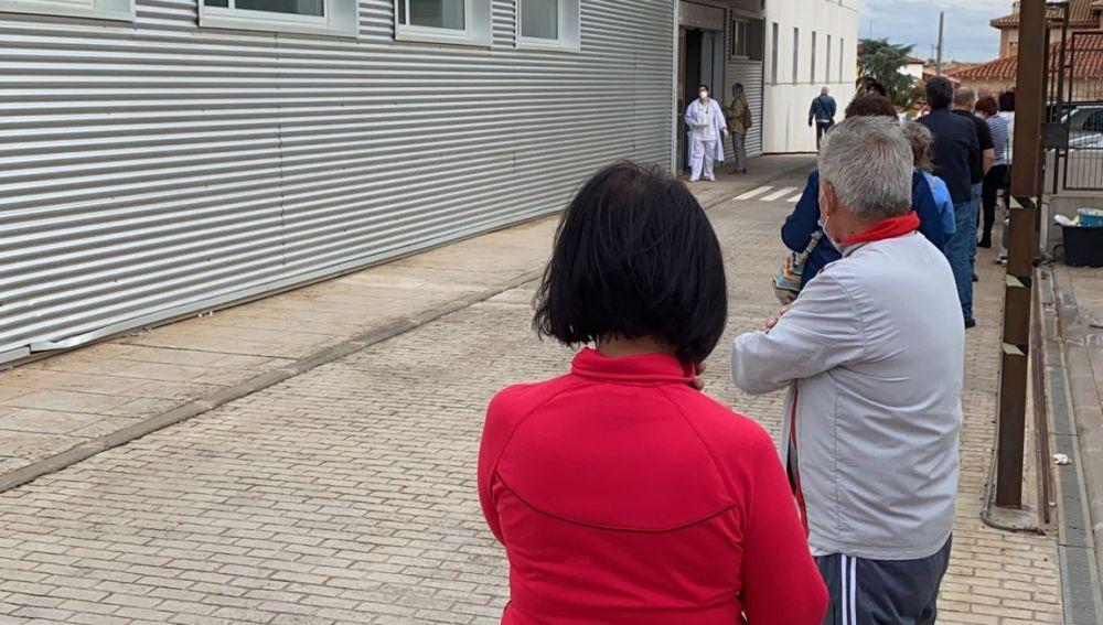 Vacunación masiva en los centros de salud de la comarca