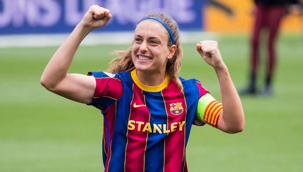 """Alexia Putellas molesta con la ausencia de público la final de Champions: """"No se ha hecho el esfuerzo por nuestros aficionados"""""""