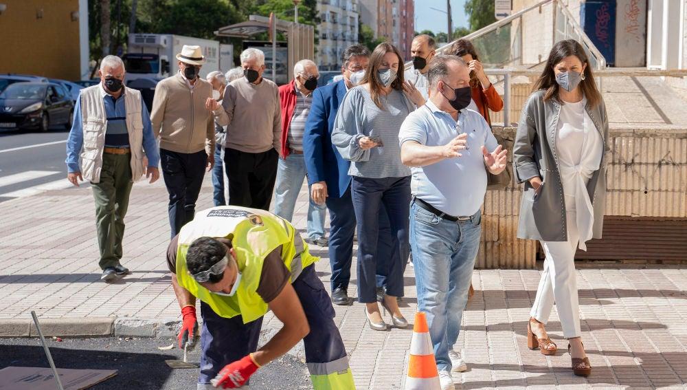 San Fernando repetirá el Plan de refuerzo de firmes invirtiendo medio millón de euros