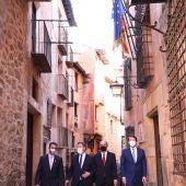Los presidentes de Aragón, Castilla y León y Castilla La-Mancha en Albarracín