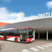 Autobús municipal de Emtusa en Gijón