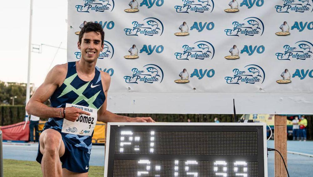 Jesús Gómez, el atleta que demuestra que nunca es tarde para triunfar