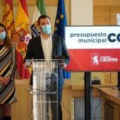 El presupuesto del Ayuntamiento de Cáceres asciende a 78,9 millones, con la prioridad de generar empleo y apoyar a las familias
