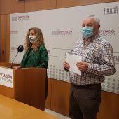 Carmela Silva y Cesareo Mosquera - Diputación de Pontevedra