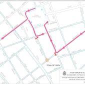 El Ayuntamiento anuncia cortes de tráfico por obras en las calles Zaragoza y Benjumeda