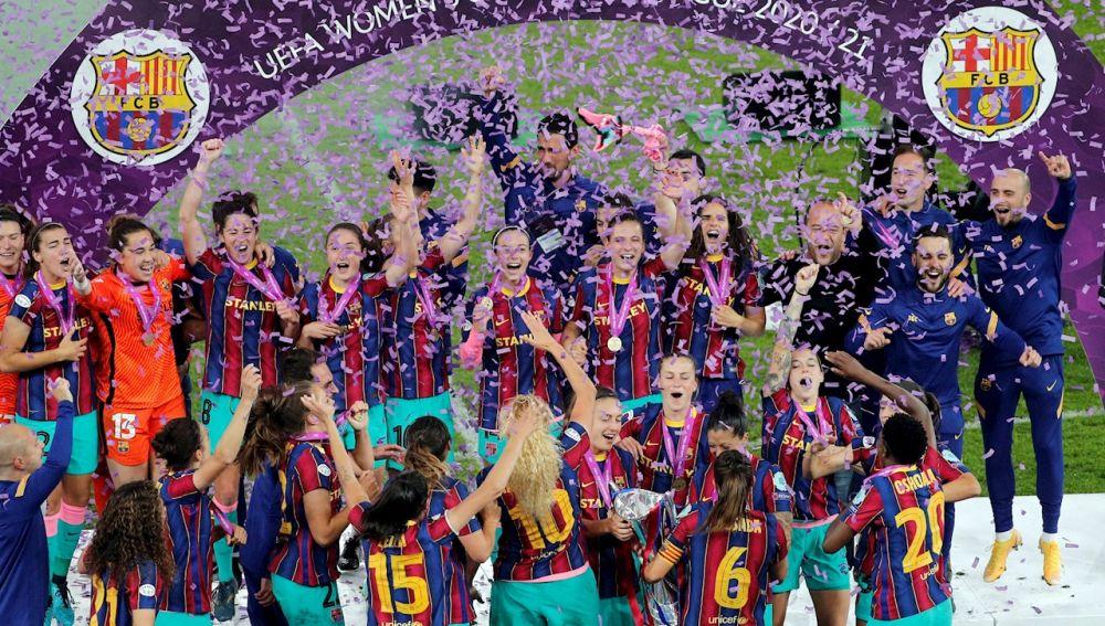 El Barcelona gana la Champions femenina