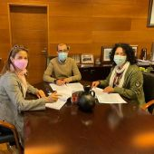 Firma convenio Ayto Cangas / Asoc Turismo Rural