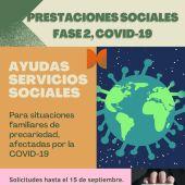 Los 346.921 euros en ayudas irán destinados a mejorar las situaciones familiares de precariedad ocasionadas por el impacto de la pandemia