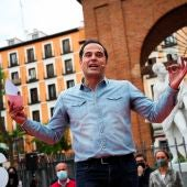 El exvicepresidente de la Comunidad de Madrid Ignacio Aguado.