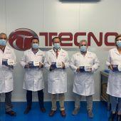 Visita a la sede de Tecnocorte