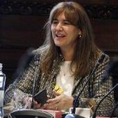 Laura Borràs abre la ronda de consultas para investir a Pere Aragonès