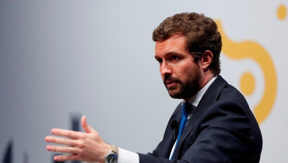 Pablo Casado, el líder del Partido Popular.