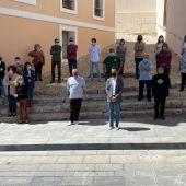 minuto de silencio Ajuntament d'Eivissa