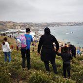 Cientos de inmigrantes se dirigen a Ceuta