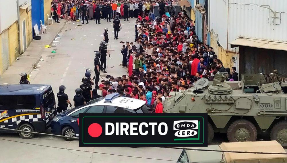 Noticias de Ceuta y Melilla, en directo: qué está pasando, crisis migratoria con Marruecos, y última hora hoy