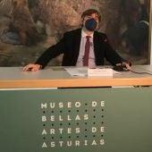 Alfonso Palacio, director del Bellas Artes Asturias. Europa Press