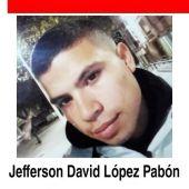 Se busca a Jefferson David, un joven de 24 años desaparecido en Toledo