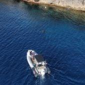 El Govern denuncia una embarcación con tres pescadores sin licencia en la reserva marina des Freus