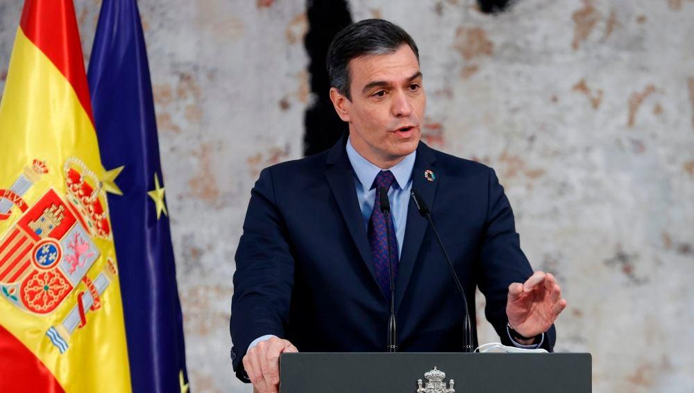 El presidentro del Gobierno, Pedro Sánchez.