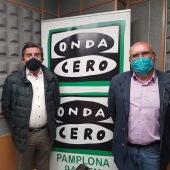José Manuel Purroy y Manuel Ganuza