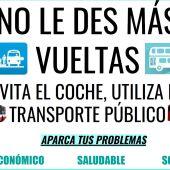 Una campaña trata de motivar el uso de los autobuses urbanos entre los escolares