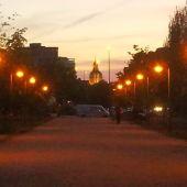 El paseo de la avenida de Madrid recupera la luz