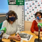 Soledad Ayllón y Yolanda Gallego