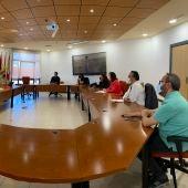 Melchor mantiene una reunión de trabajo con responsables de la Fundación Ferrocarriles Españoles