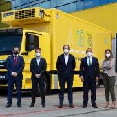Camión 100% eléctrico adquirido por Alimerka.