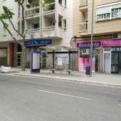 Obras en la calle Arquebisbe Aspàreg del barrio de Pere Garau de Palma