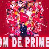 El Mallorca ya es equipo de Primera división.