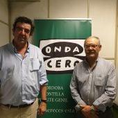 Emilio del Campo y Rafael Guerrero en los estudios de Onda Cero