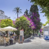 Plaza de la Candelaria, en Cádiz
