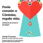 'Ponle corazón a Córdoba, regala vida'