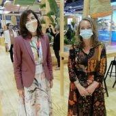 Rosana Morillo, directora general de turismo, acompaña a la periodista de Onda Cero Elka Dimitrova