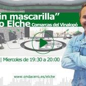 """Javier Coloma presenta la sección 'Al mar sin mascarilla"""", en Onda Deportiva Elche."""