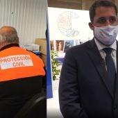 Protección Civil Ceuta y consejero de Turismo