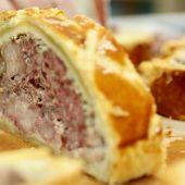 Brazo de gitano relleno de carne, receta de Robin Food