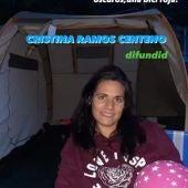 Cartel de la desaparición de Cristina Ramos
