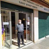 Pep Gomila, presidente de la asociación de vecinos y gent gran de Sant Josep Obrer - Son Coc, en el barrio de Pere Garau de Palma
